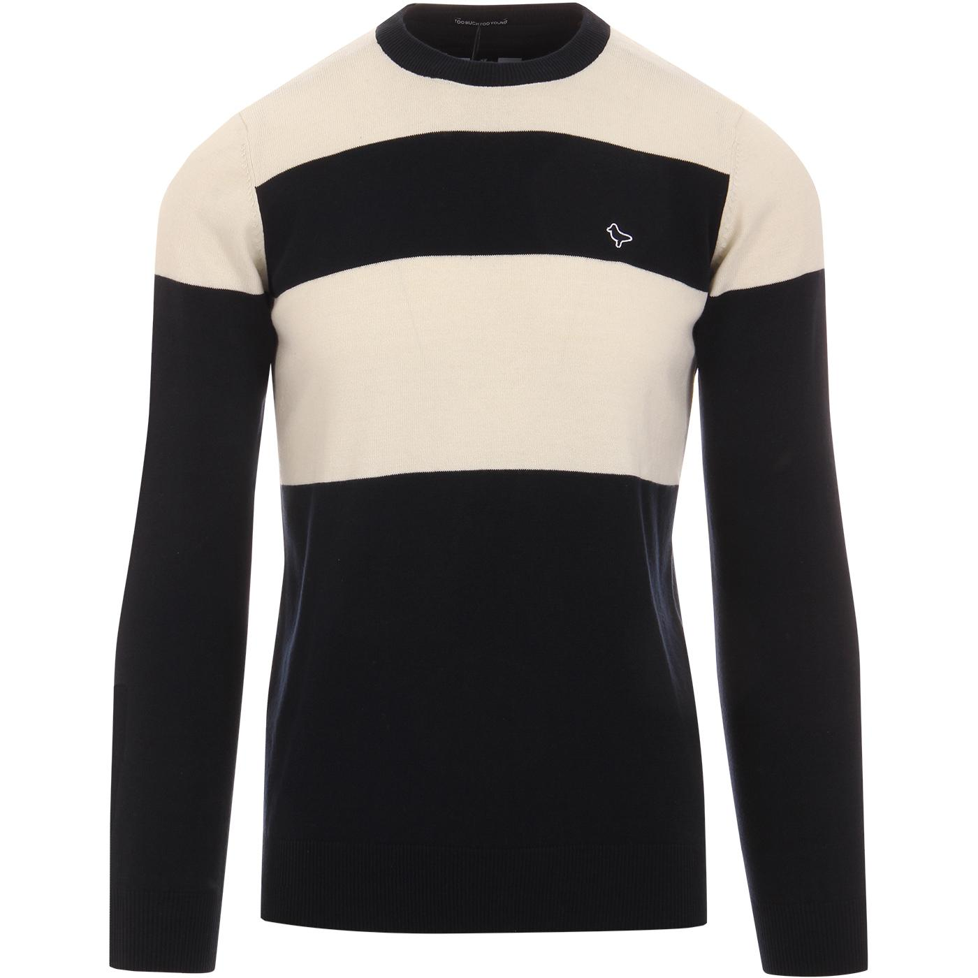 Pacho WEEKEND OFFENDER Colour Block Knitted Jumper