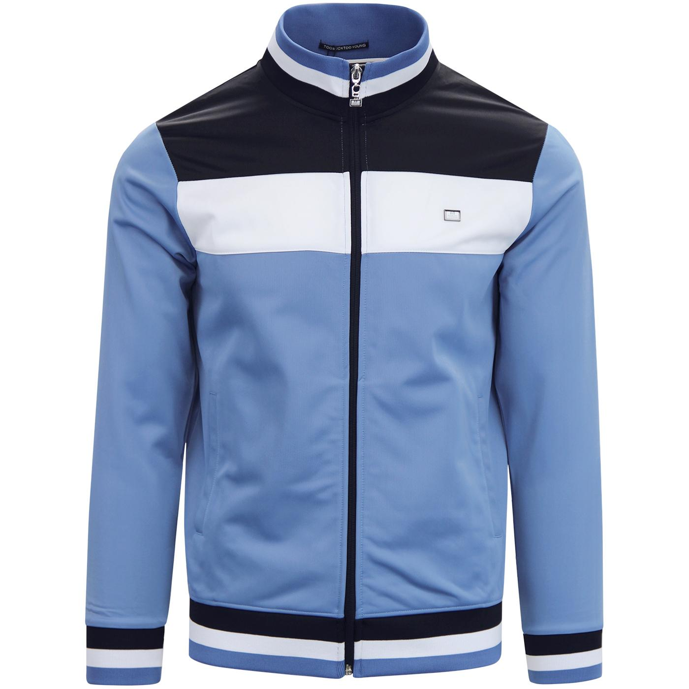 The Immortal WEEKEND OFFENDER Retro Track Top SKY