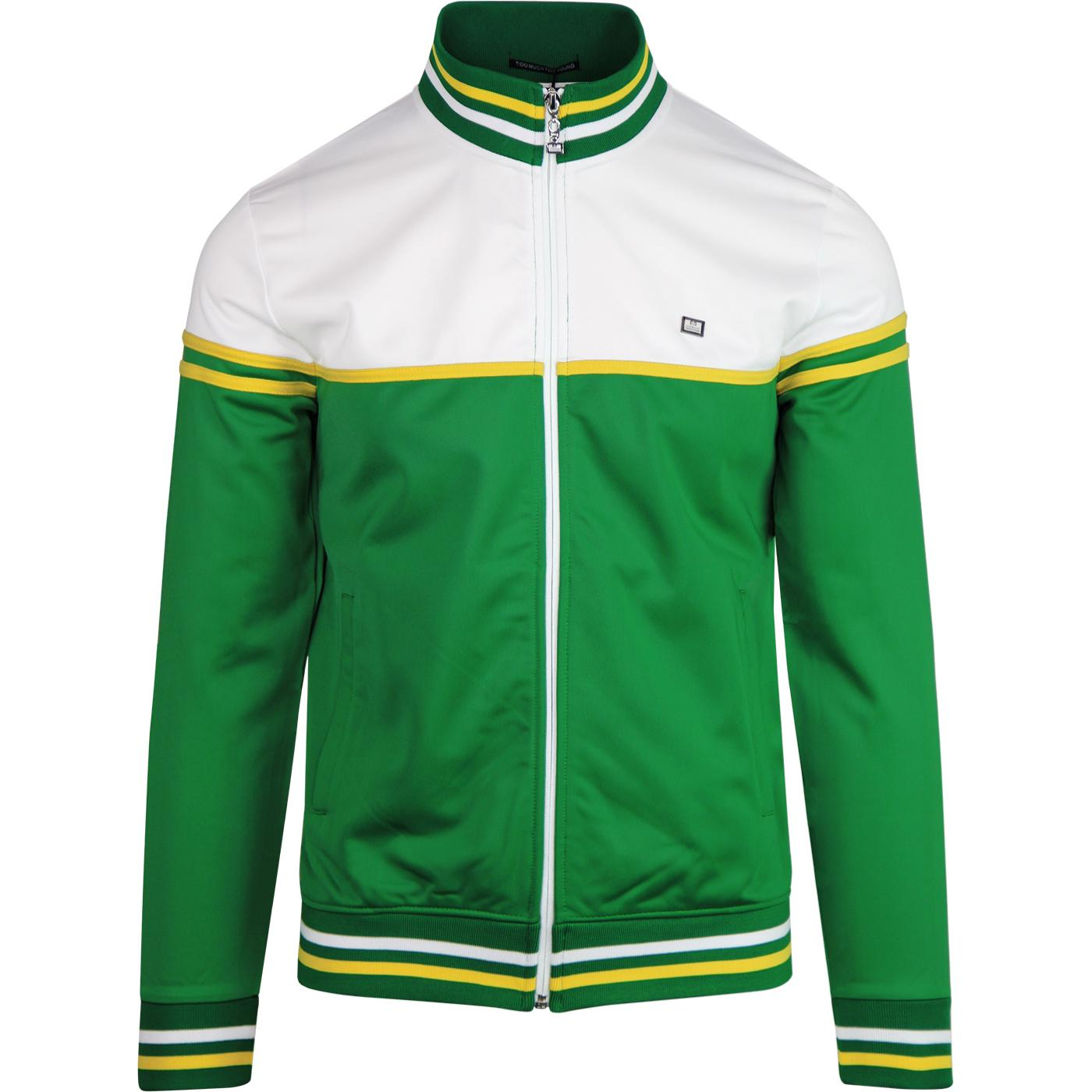 Italia WEEKEND OFFENDER Retro 80s Track Jacket (G)
