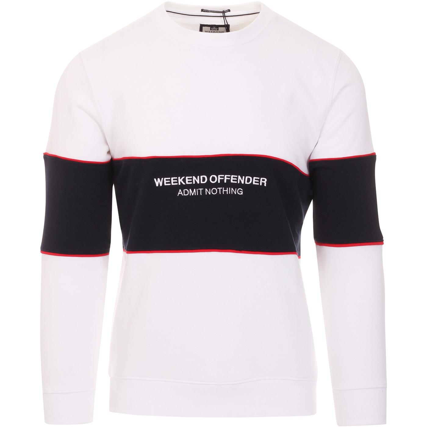 Poison WEEKEND OFFENDER Retro Panel Sweater W