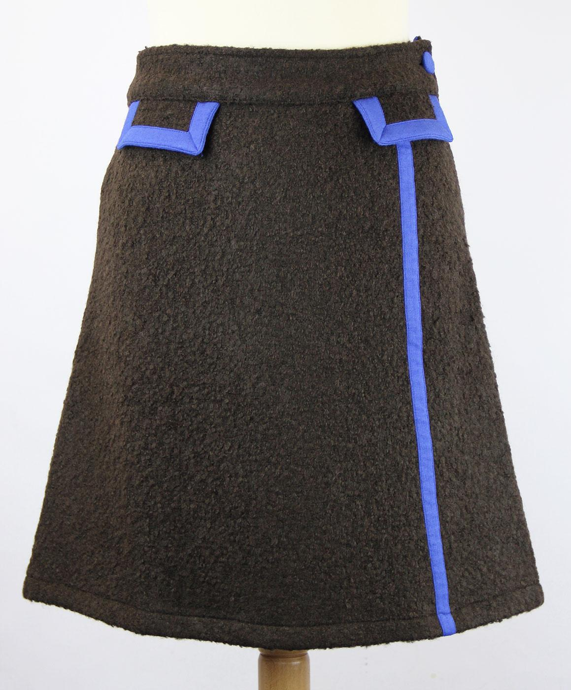 Bastille Above WOW TO GO Retro Mod Airline Skirt