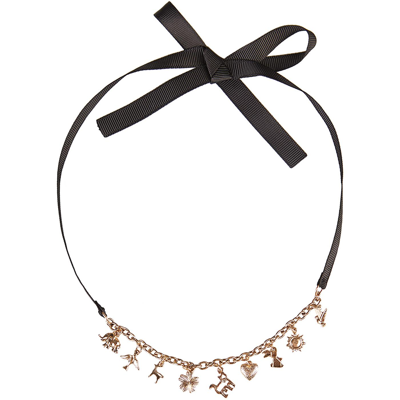 Willow LOUCHE Retro 50s Charm Choker Necklace