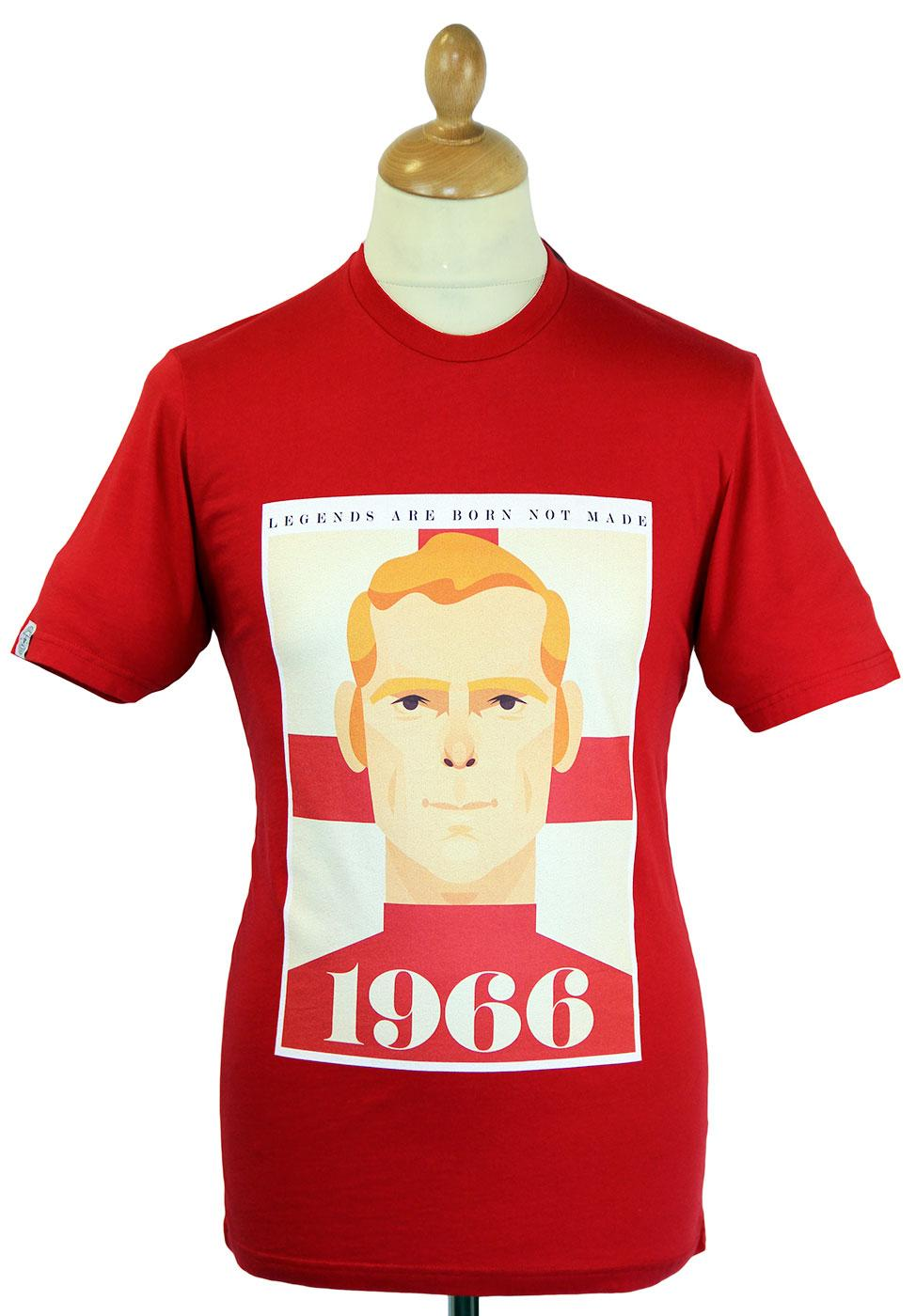 Moore WORLD CLASS COLLECTIVE Retro Football Tee R