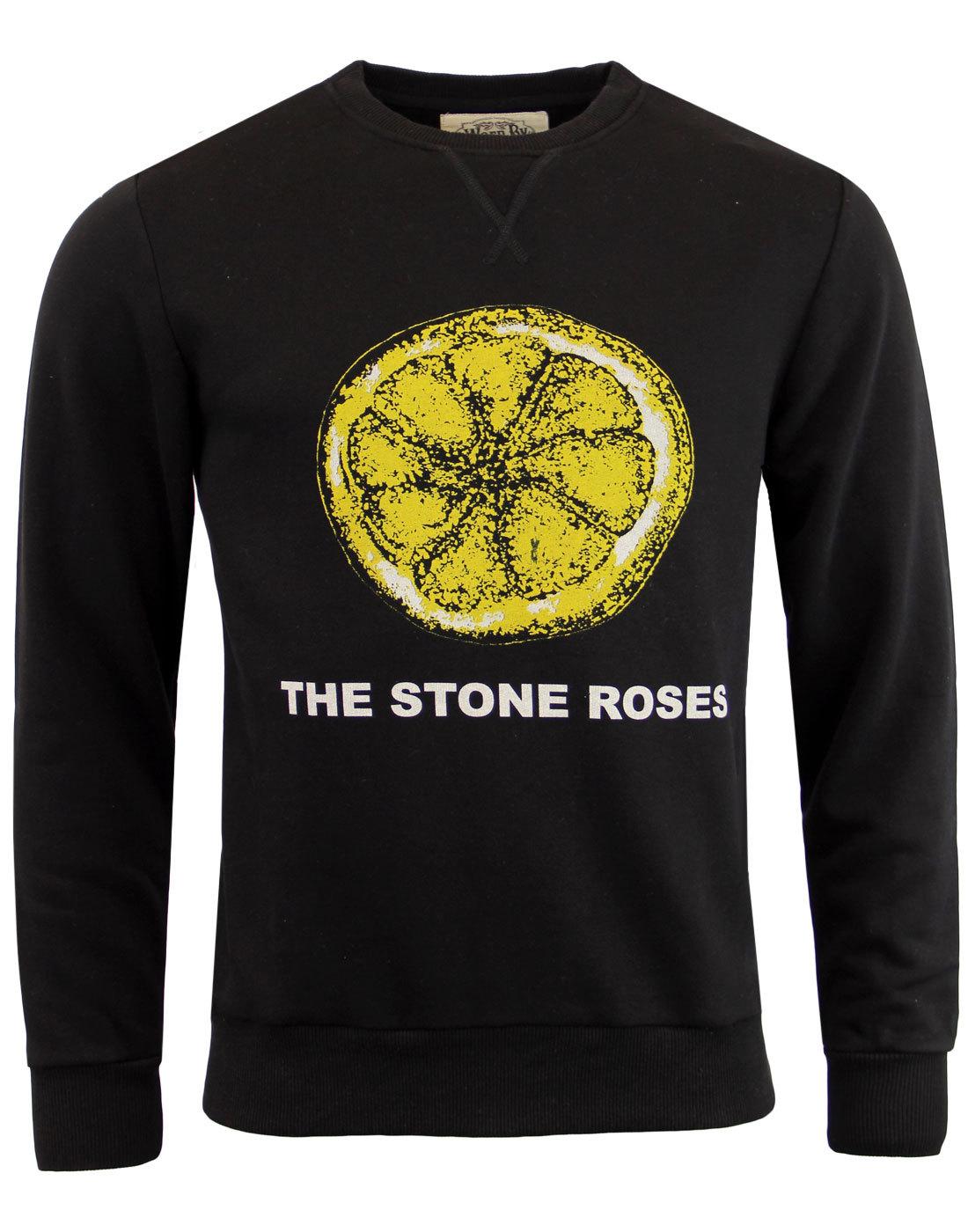 Lemon Sweatshirt WORN BY Stone Roses Indie Sweat
