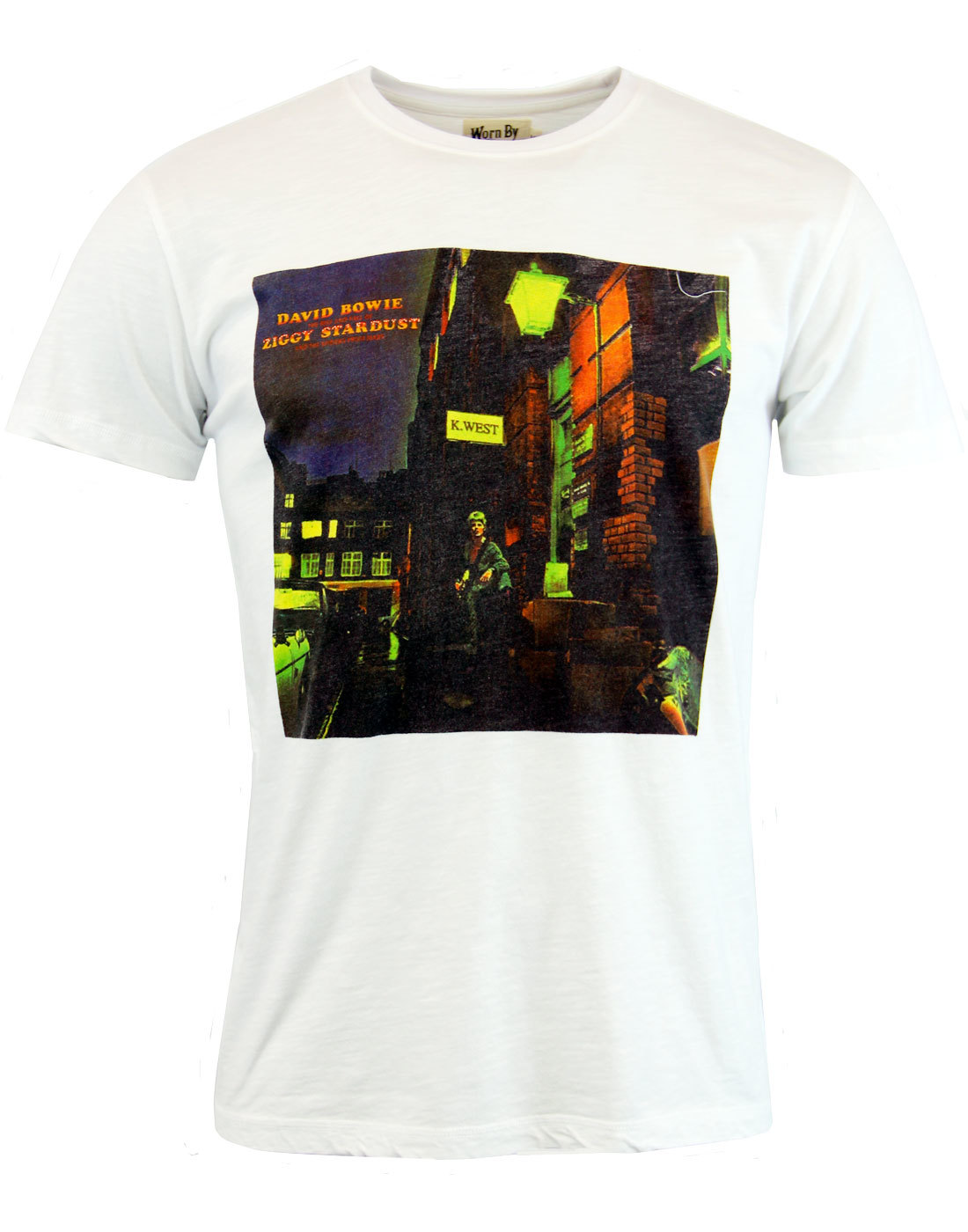 Ziggy Stardust WORN BY Retro 1970s Album T-shirt
