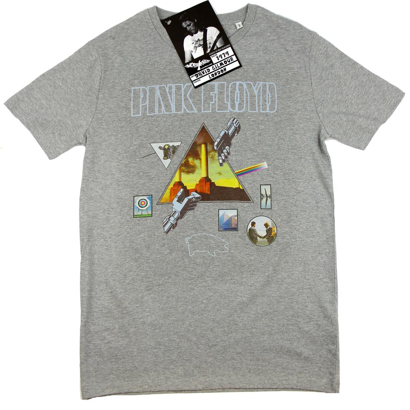 WORN FREE David Gilmour Pink Floyd Albums T-Shirt