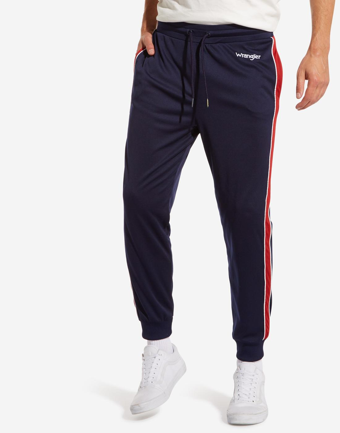 WRANGLER Men's Retro 70s Tracksuit Bottoms