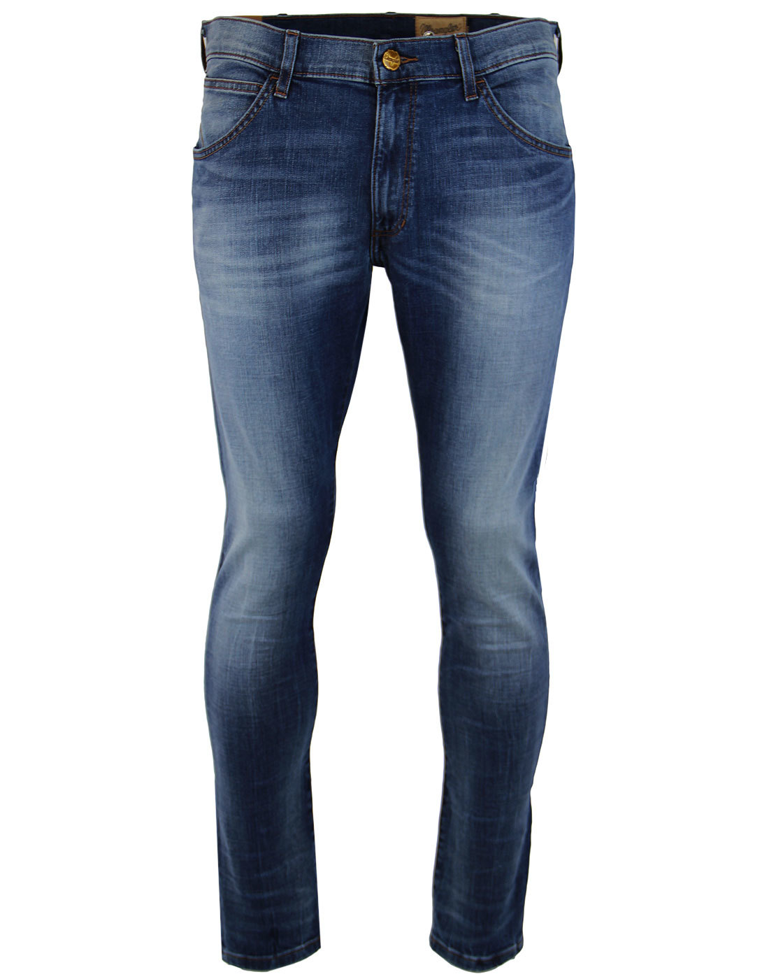 2b0a0e78 WRANGLER Bryson Retro Indie Fired Up Skinny Low Waist Denim Jeans