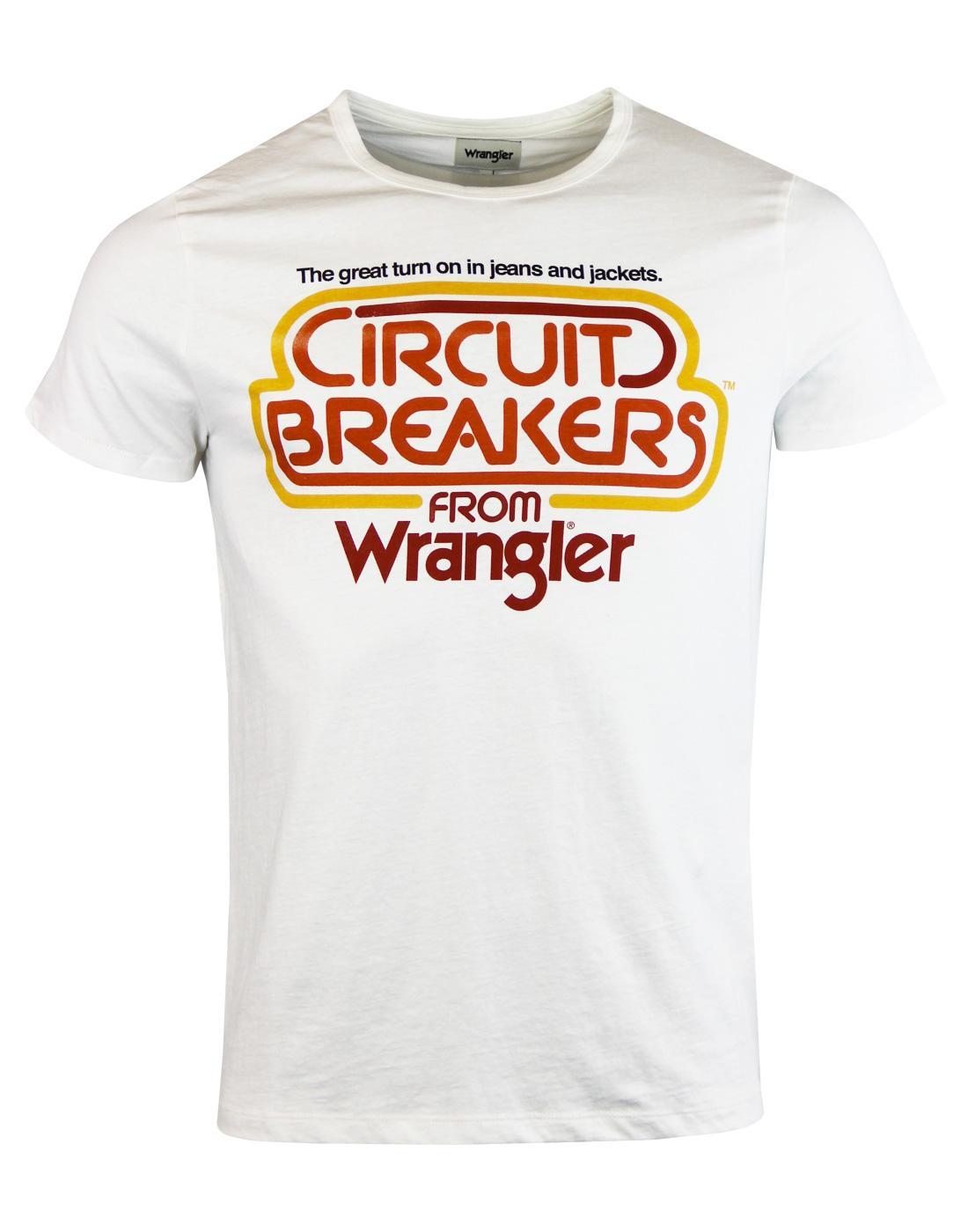 Circuit Breaker WRANGLER Retro 70s Indie T-Shirt