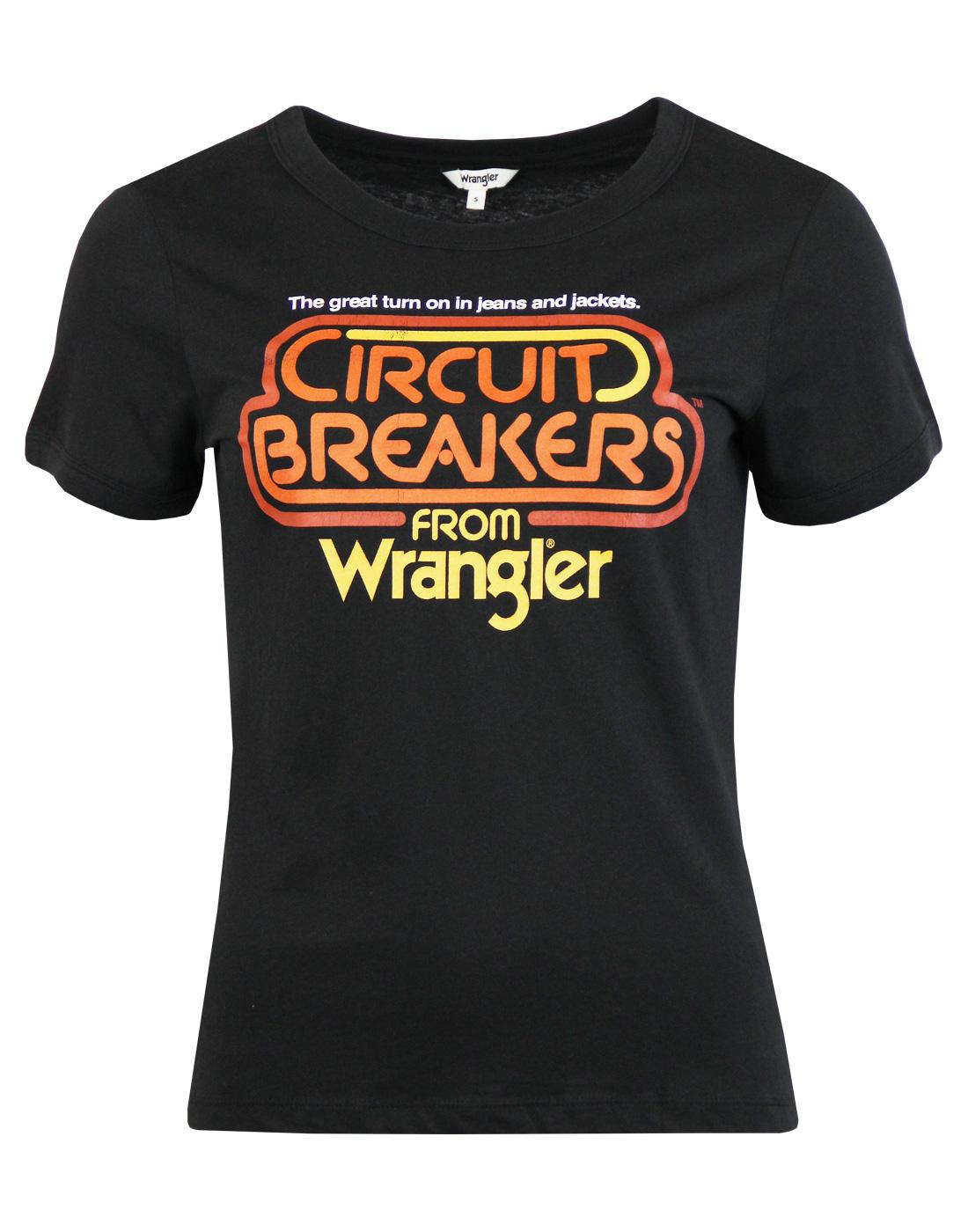 Circuit Breaker WRANGLER Women's Retro 70s T-Shirt