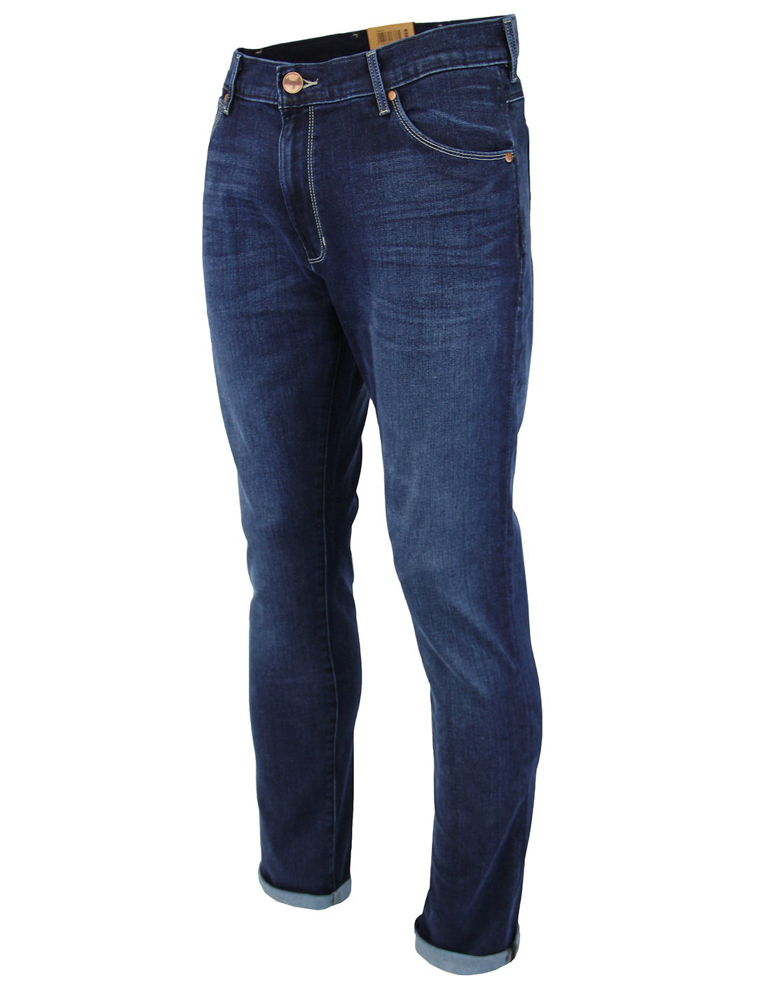 cca39246 Larston WRANGLER Slim Soft Luxe Denim Jeans in Comfy Break Blue