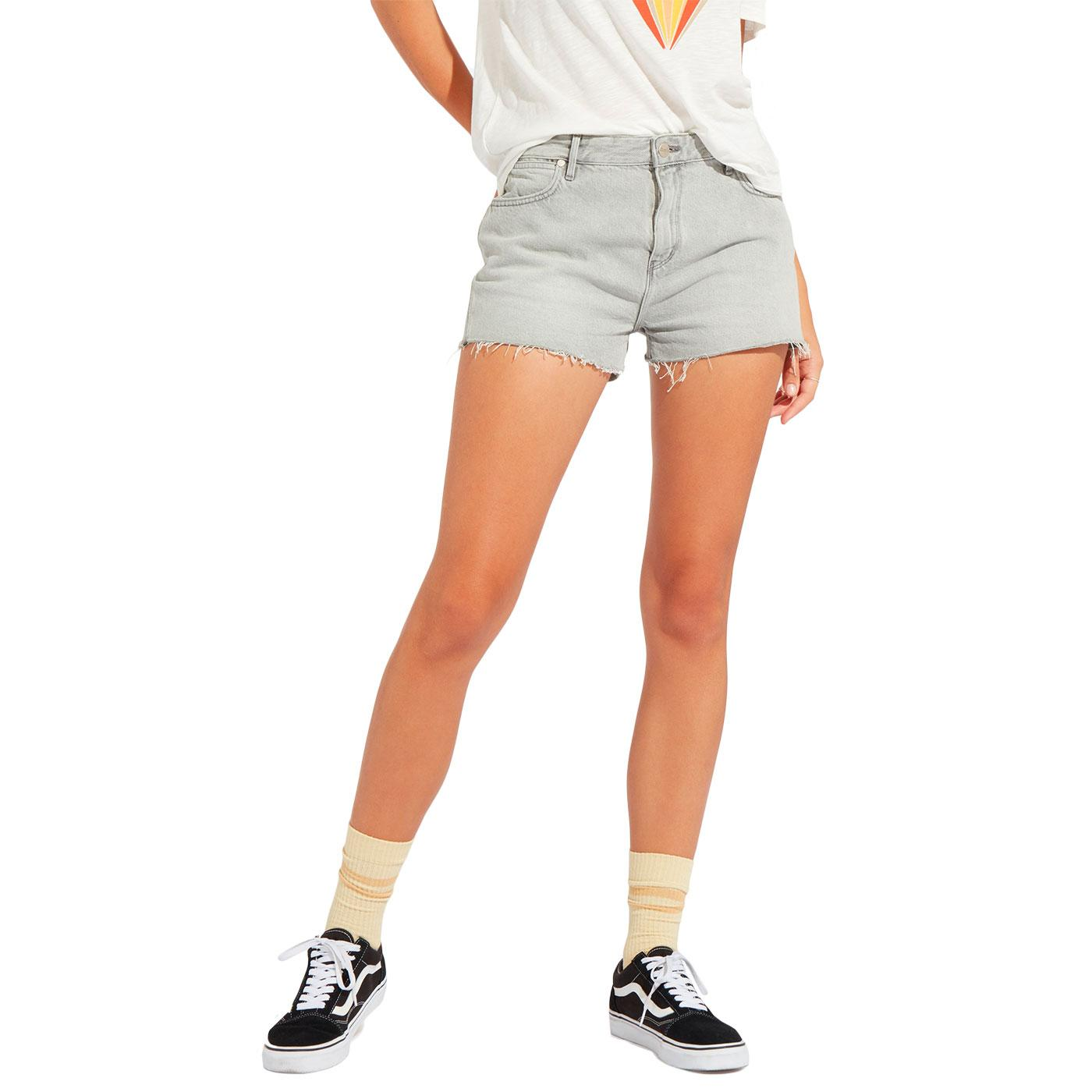 WRANGLER Women's Retro Boyfriend Shorts (Icy Grey)