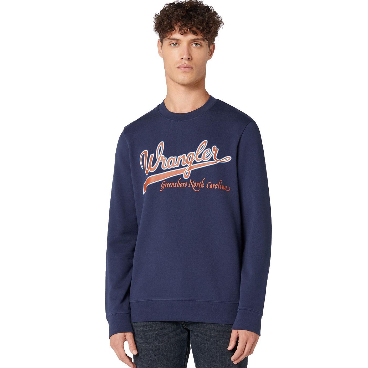 WRANGLER Men's Baseball Logo Sweatshirt