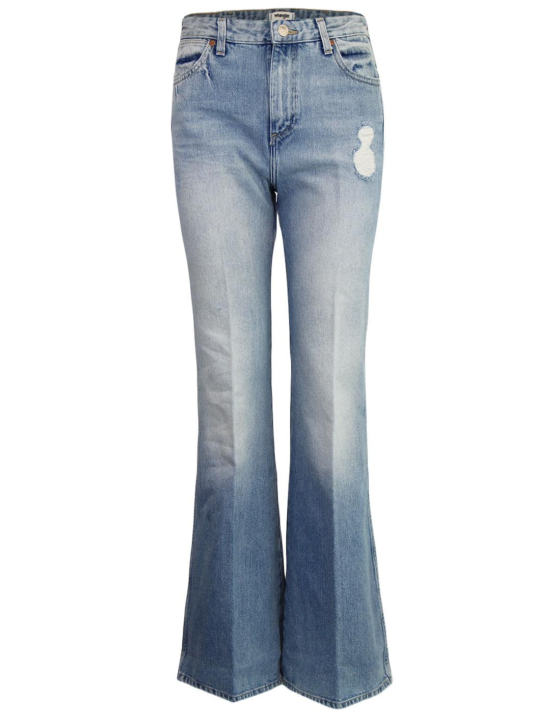 WRANGLER 1970s Denim Retro Star Flares (Glaston)