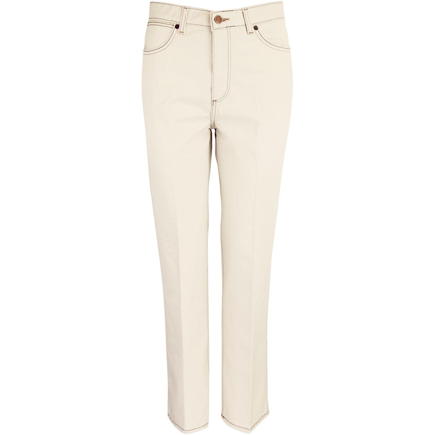 WRANGLER Retro Straight Denim Jeans (Natural Sand)