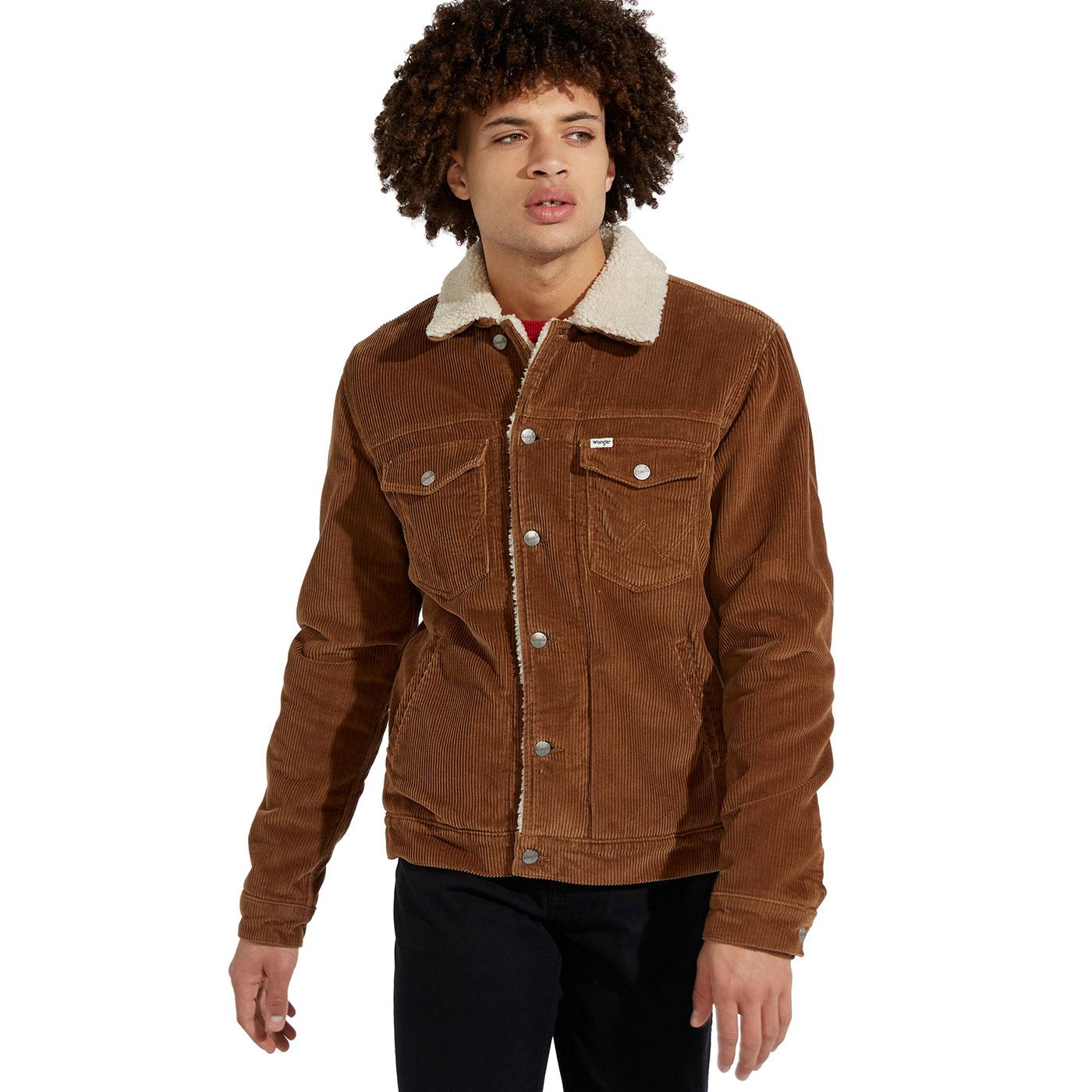 WRANGLER Retro Indie Cord Sherpa Jacket RB