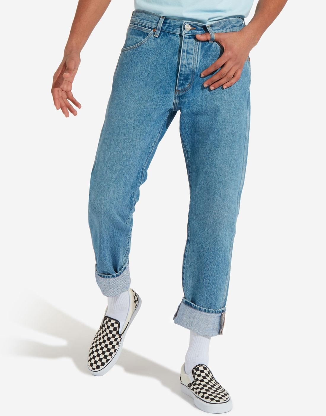 Slider WRANGLER Slider Regular Tapered Jeans (KB)