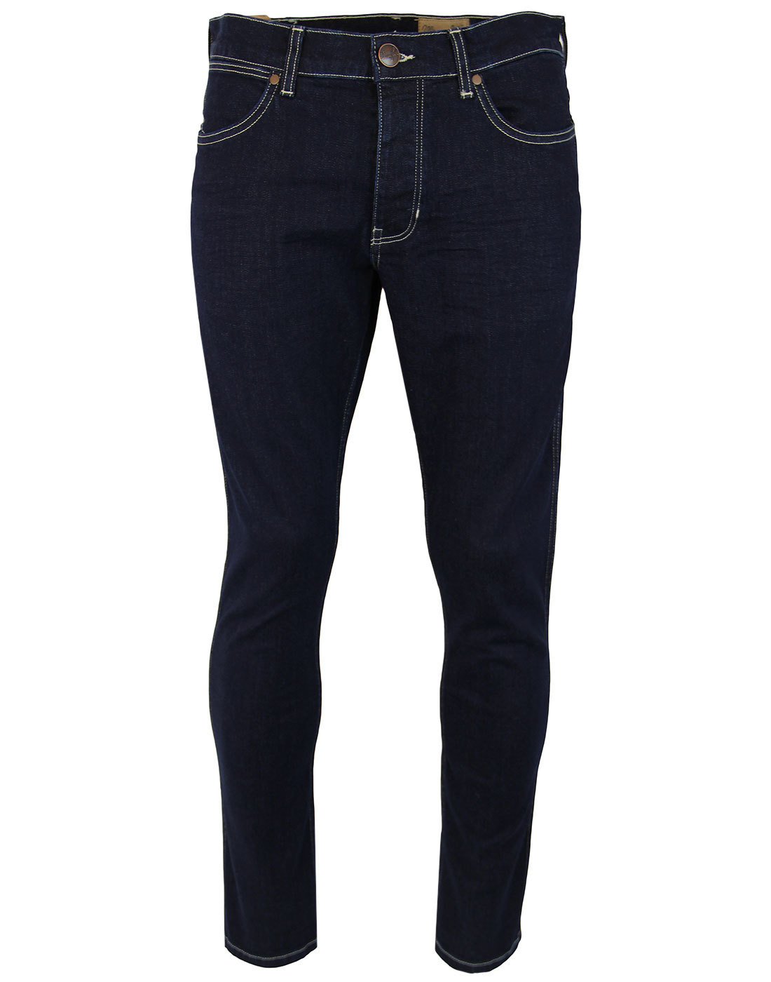Spencer WRANGLER Retro Mod Slim Dark Denim Jeans