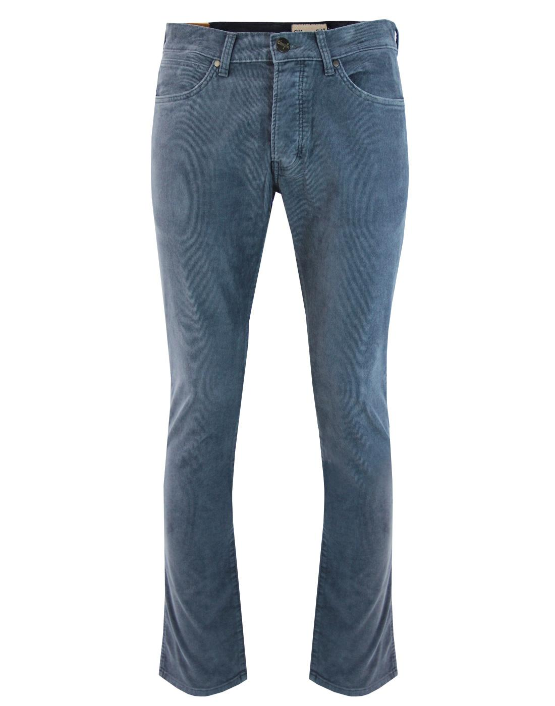 Spencer WRANGLER Grey Eyes Blue Retro Slim Cords