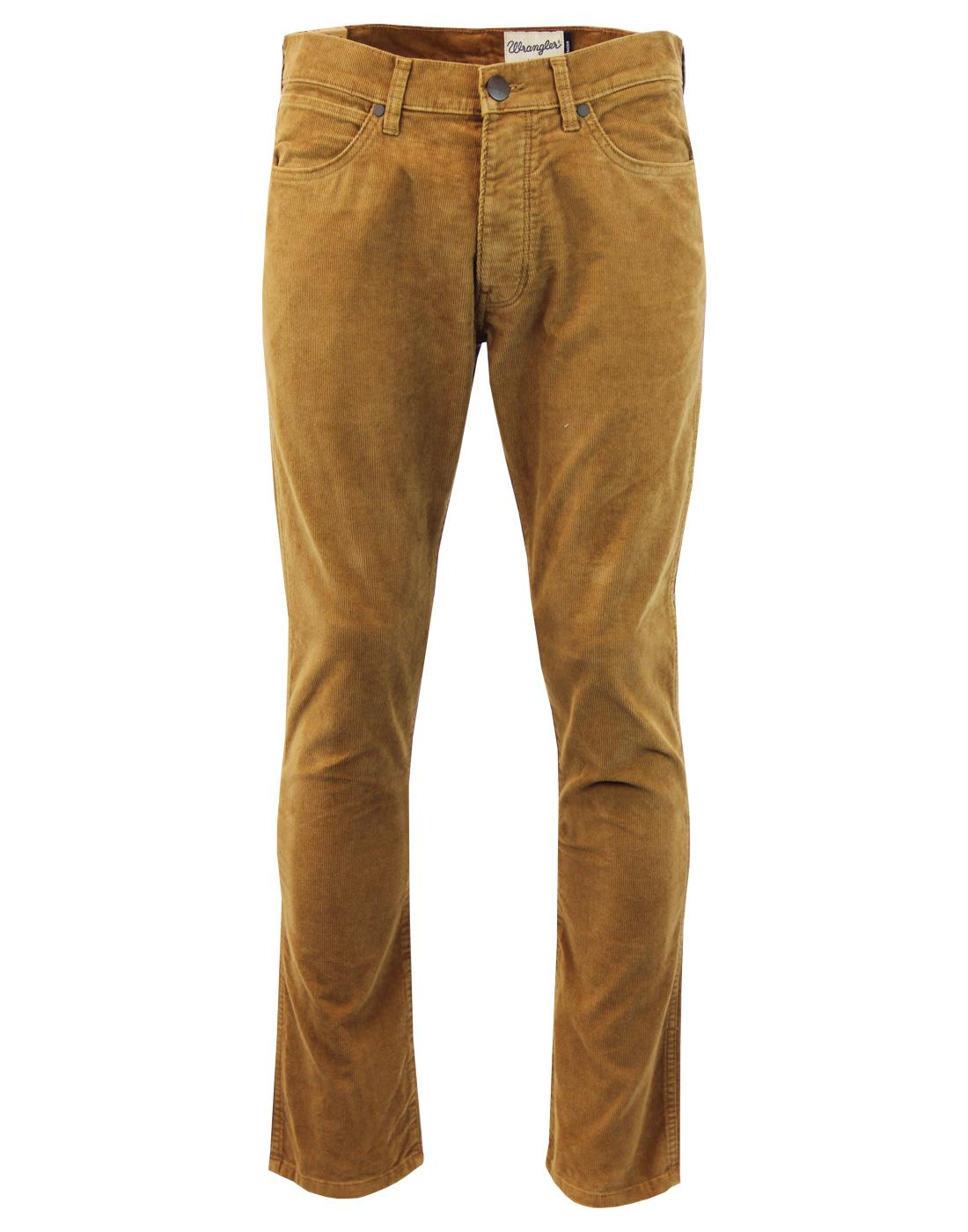 Spencer WRANGLER Bison Washed Retro Mod Slim Cords