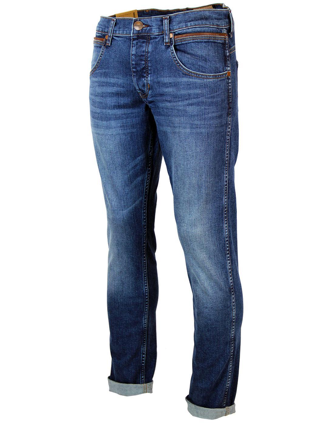 WRANGLER Spencer Retro Mod Relaxed Slim Leather Pocket ...