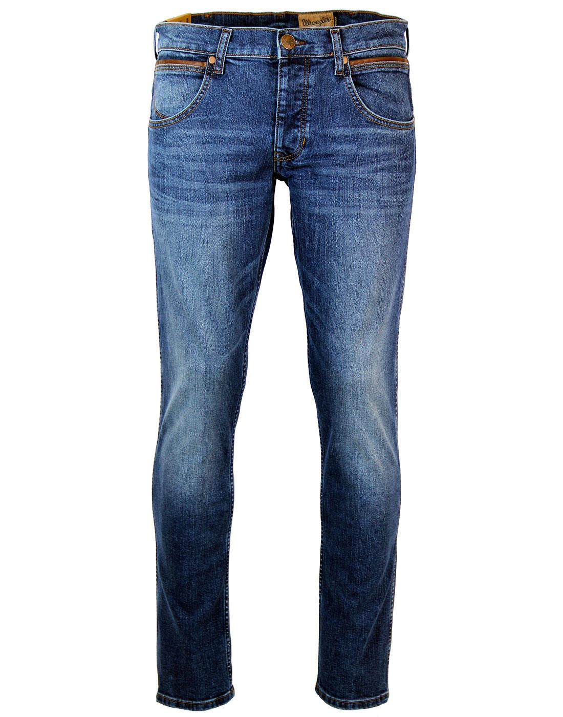 Spencer WRANGLER Retro Relaxed Slim Denim Jeans