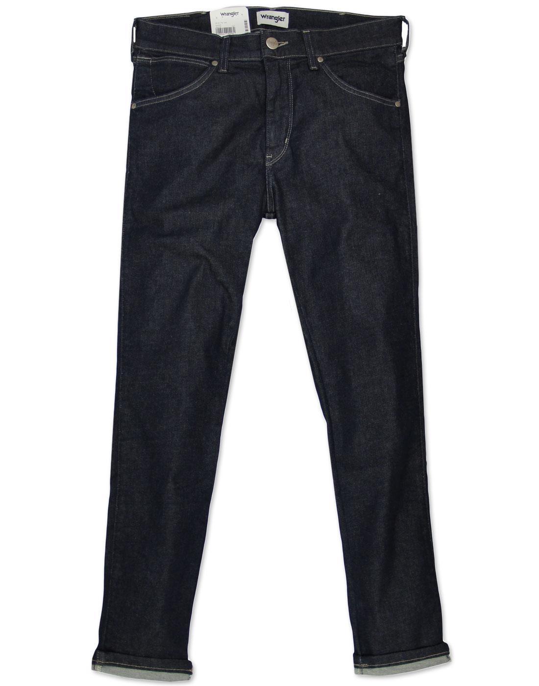 Strangler WRANGLER Retro Super Skinny Jeans RINSE