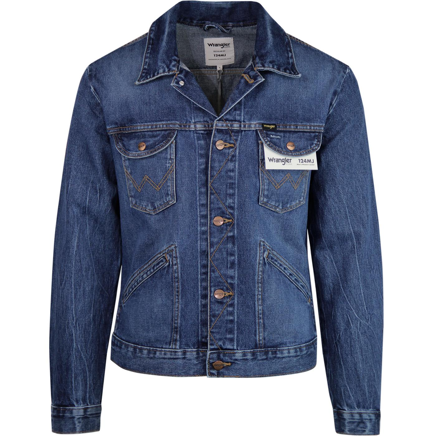 124MJ WRANGLER Mod Men's Western Jacket (3 Years)
