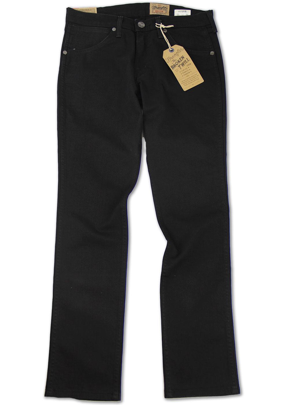 Bostin WRANGLER Retro Classic Standard Slim Jeans