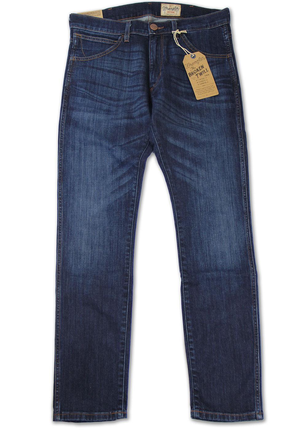 Bryson WRANGLER Day Sailing Blue Skinny Cut Jeans