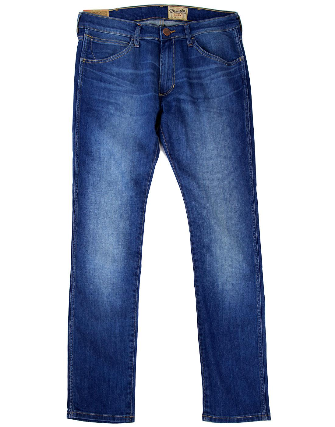 Bryson WRANGLER Blue Bream Super Skinny Jeans
