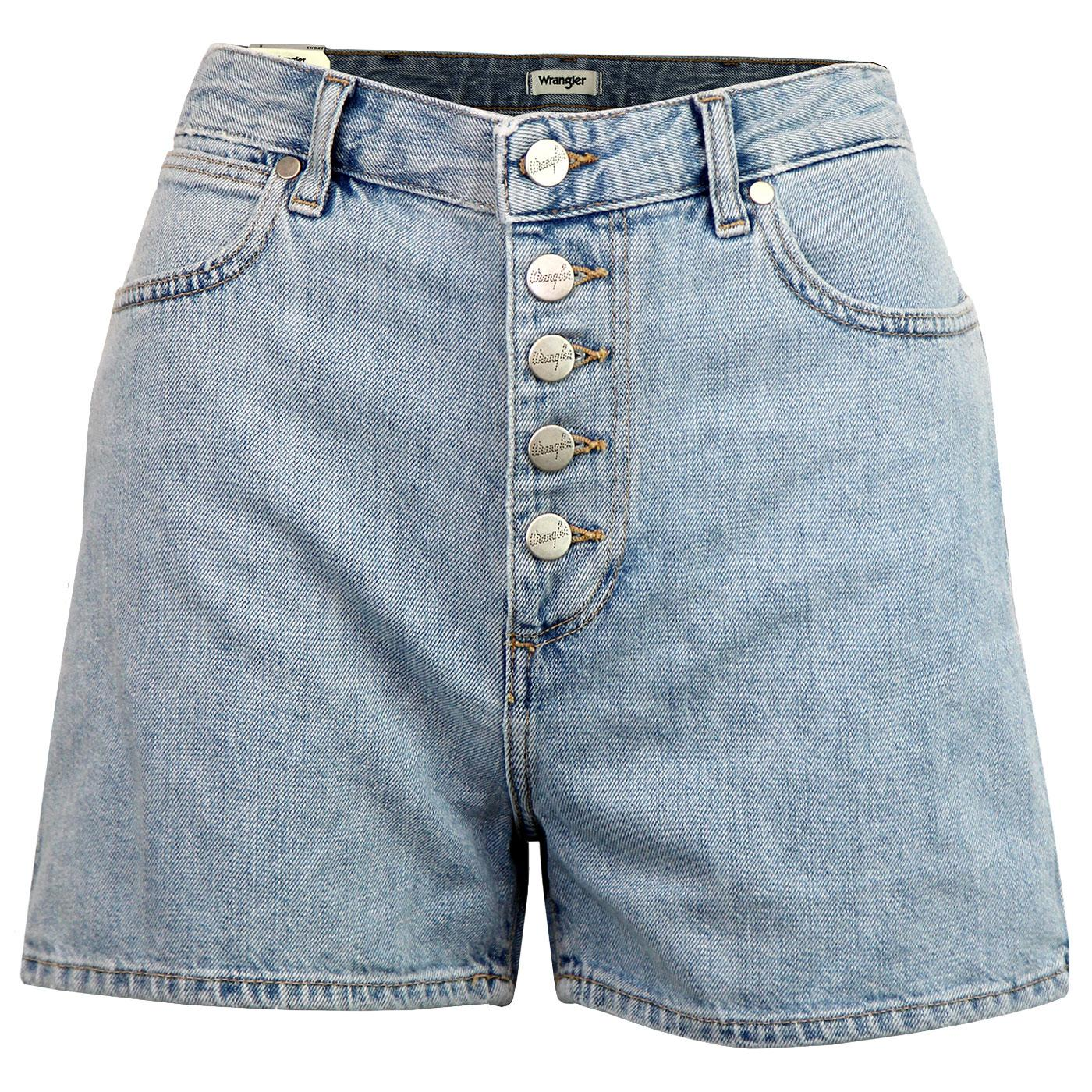 WRANGLER Women's Stonewash Denim Retro Shorts