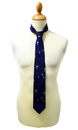 1 LIKE NO OTHER BALLOONS SILK TIE RETRO TIES MOD