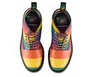 1460 Pride DR MARTENS Rainbow Stripe Ankle Boots