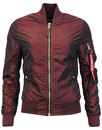 Alpha industries Bomber Jacket burgundy