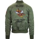 ALPHA INDUSTRIES MA1 VF Flying Tiger Bomber Jacket