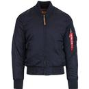 Alpha industries MA1vf59 bomber jacket rep blue