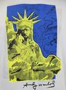 Liberty ANDY WARHOL Statue Of Liberty Pop Art Tee