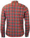 Dexter B D BAGGIES Retro Mod Tartan Shirt