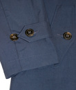 BARACUTA G10 Made in England Mens Raincoat - Navy