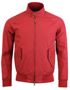 BARACUTA G9 Mod 60s Harrington Jacket - Dark Red