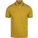 Ben sherman romford yellow side stripe polo shirt
