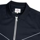 BEN SHERMAN Men's Tricot Polo Collar Track Top (N)