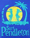 SURF PENDLETON Retro 70s Indie Hula Girl T-shirt