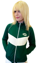BUKTA VINTAGE WOMENS RETRO SEVENTIES TRACK JACKET