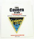 CAVERN CLUB HOME OF MERSEYBEAT BADGE TRIANGLE