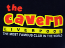 CAVERN CLUB Classic Logo Retro 60s Mod T-Shirt (B)