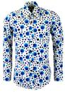 CHENASKI Dot Retro Mod Op Art Off White/B