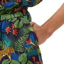 Clara SUGARHILL BRIGHTON Vintage Jungle Playsuit