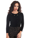 Jessie COLLECTIF Vintage Atomic Star Knit Cardigan
